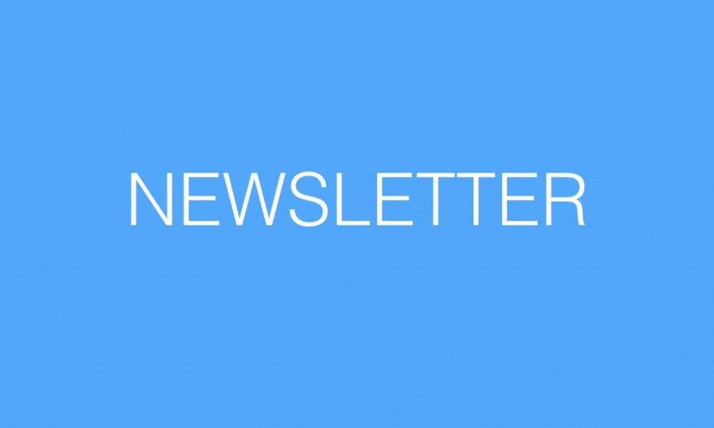 Newsletter – September 2017