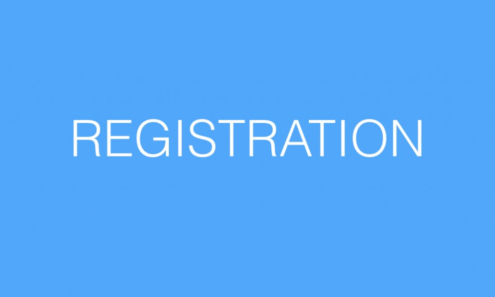 Registration for the 2016 – 2017 School Year
