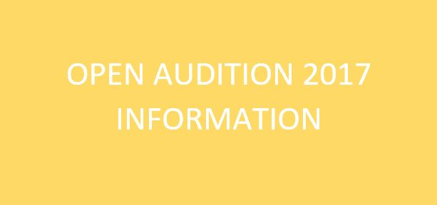 Open Audition 2017