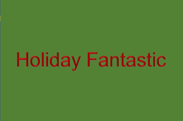 2017 Special Community Event: Holiday Fantastic