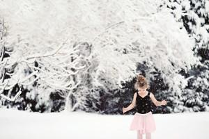 Ballerina+snow