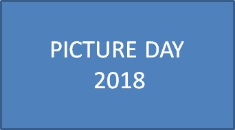 Picture Day Schedule 2018