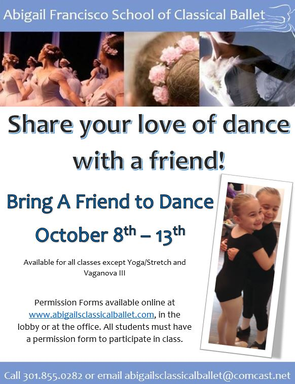Bring A Friend Flyer