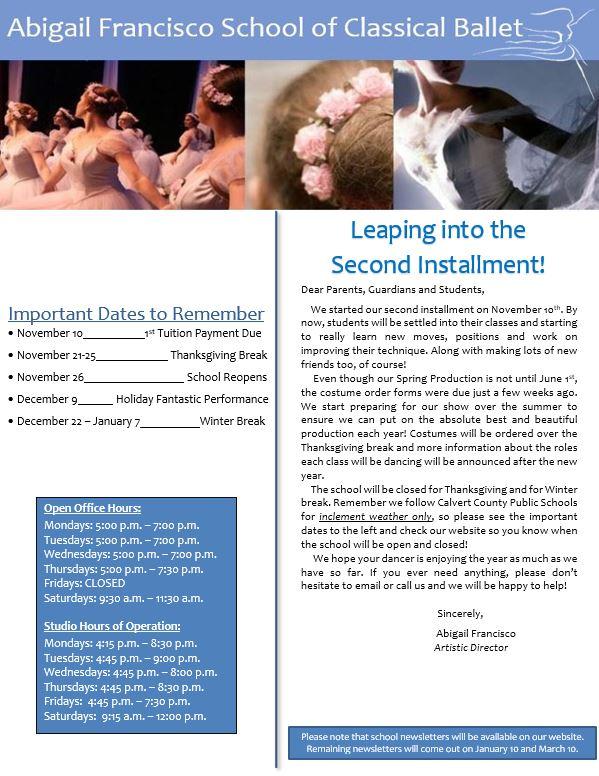 Newsletter 2 pg 1