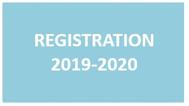 Registration for 2019-2020