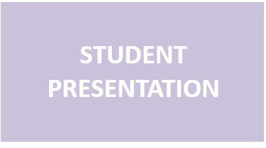 Student Presentation 2020
