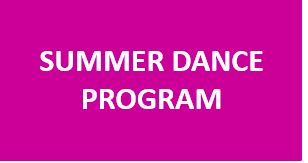 Summer Dance Program 2020